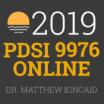 Summer Institutes - PDSI 9976 - Dr. Matthew Kincaid